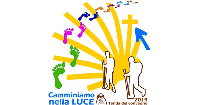 Shalom pellegrini! Inizio della Tenda del convegno 2019